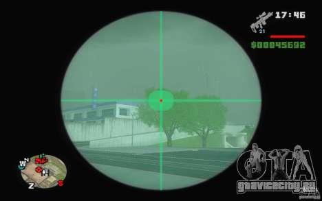 Снайперская винтовка из Ballad of a Gay Tony для GTA San Andreas второй скриншот