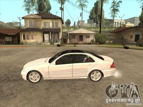 Mercedes-Benz E55 AMG для GTA San Andreas вид слева