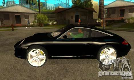 Porsche 911 Targa 4 для GTA San Andreas вид слева