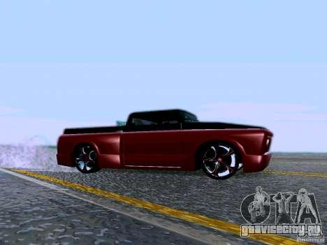 Slamvan Tuned для GTA San Andreas вид слева