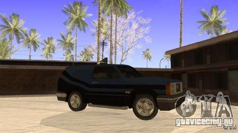 Sandking EX V8 Turbo для GTA San Andreas вид слева