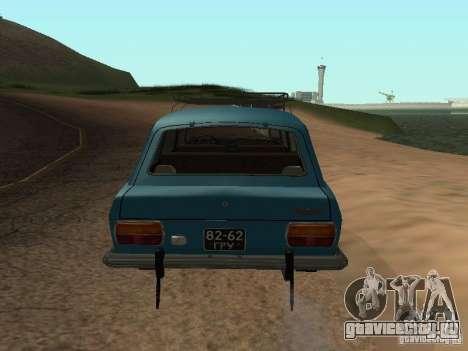 Иж 2125 v2 для GTA San Andreas вид справа