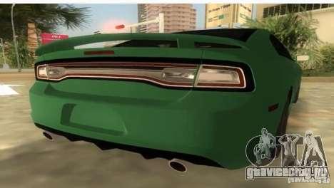 Dodge Charger для GTA Vice City вид слева