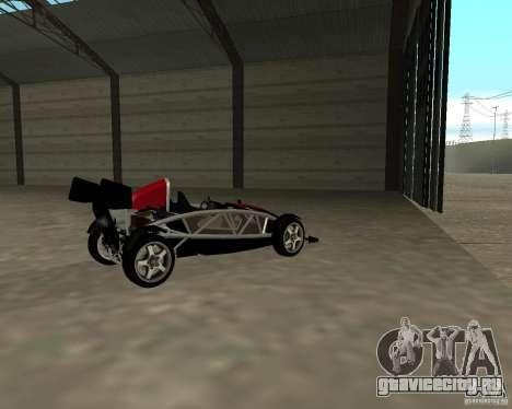 Ariel Atom V8 для GTA San Andreas вид сзади слева