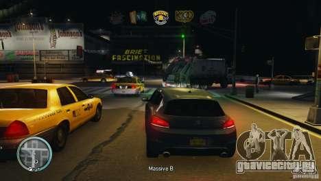 Coloured Radio HUD для GTA 4 четвёртый скриншот