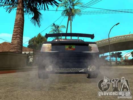 VW Jetta для GTA San Andreas вид сзади слева