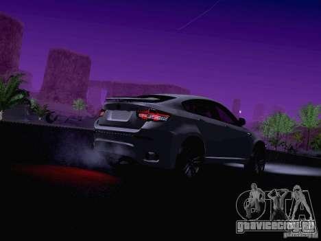 BMW X6 LT для GTA San Andreas вид снизу