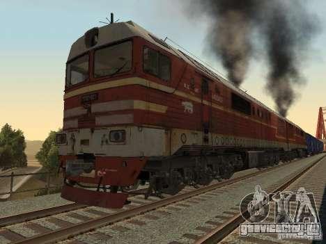 2ТЭ121-023 для GTA San Andreas вид слева