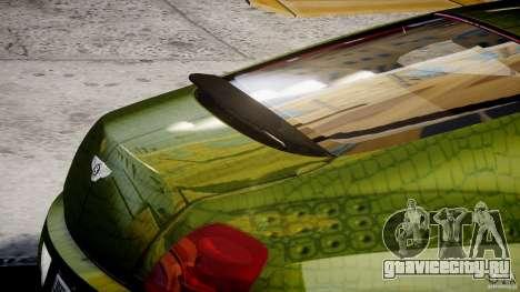 Bentley Continental SS 2010 Suitcase Croco [EPM] для GTA 4 салон