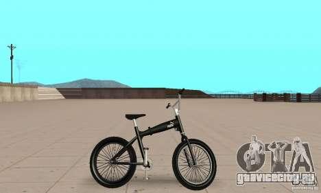 Puma MT Bike для GTA San Andreas вид сзади слева