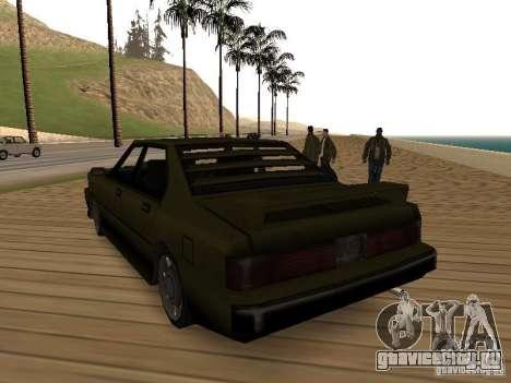 Sentinel XS для GTA San Andreas вид сзади слева