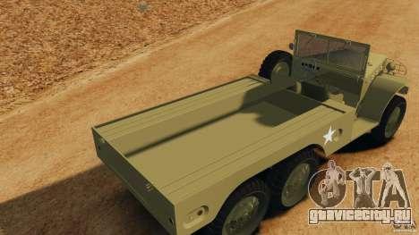 Dodge WC-62 3 Truck для GTA 4 вид сверху