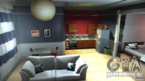 Retextured Lopez Apartment для GTA 4 второй скриншот
