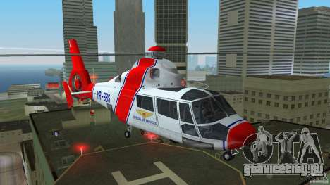 Eurocopter As-365N Dauphin II для GTA Vice City
