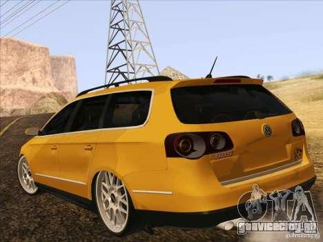Volkswagen Passat B6 Variant для GTA San Andreas вид сбоку