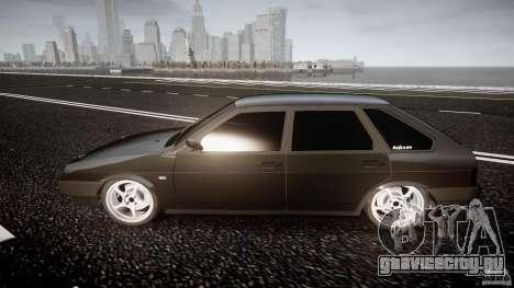 ВАЗ 2109 Lada для GTA 4 вид изнутри