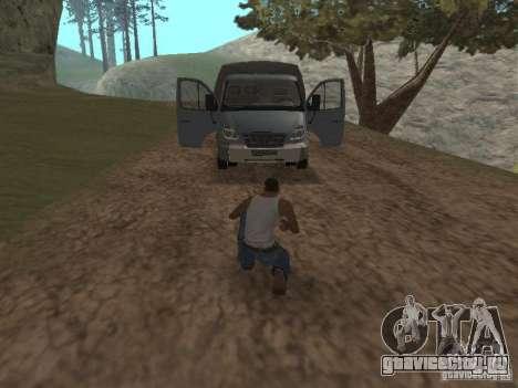 ГАЗ 3310 Валдай для GTA San Andreas вид сзади