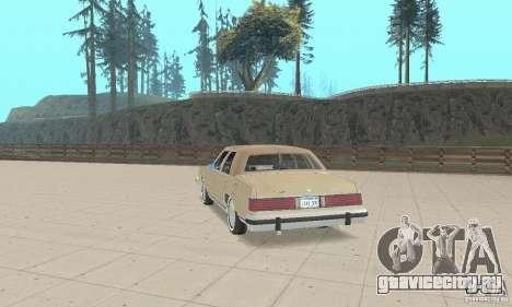Mercury Grand Marquis LS 1986 для GTA San Andreas вид слева