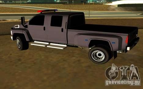 GMC Topkick C4500 для GTA San Andreas вид справа