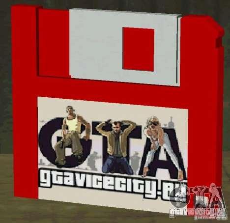Новая HD дискета сохранения для GTA San Andreas