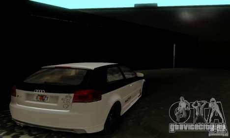 Audi S3 для GTA San Andreas двигатель