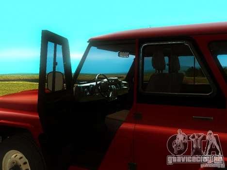 УАЗ 315148 для GTA San Andreas вид сзади