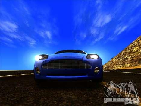 Aston Martin V12 Vanquish V1.0 для GTA San Andreas вид сбоку