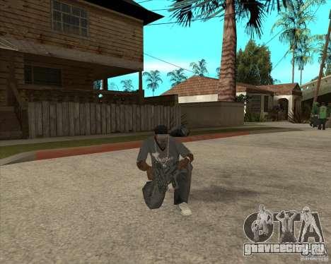 Пак оружия из Fallout New Vegas для GTA San Andreas седьмой скриншот