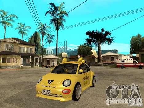 Volkswagen Beetle Pokemon для GTA San Andreas