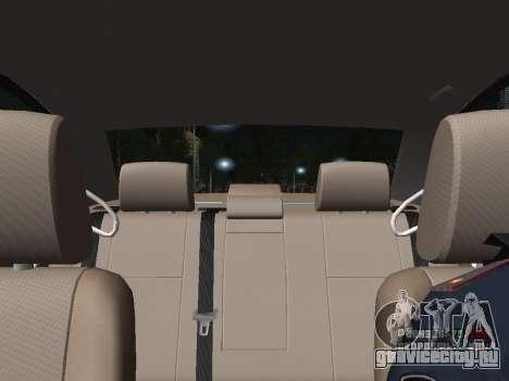 Toyota Avensis ДПС для GTA San Andreas вид сверху