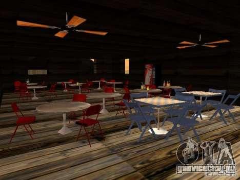 Новый Бар на пляже Верона для GTA San Andreas пятый скриншот