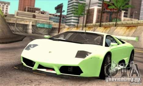 Lamborghini Murcielago R-SV GT1 для GTA San Andreas вид сбоку