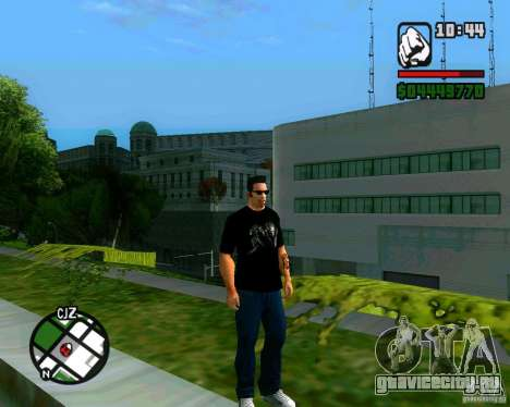 Футболка AVP для GTA San Andreas второй скриншот