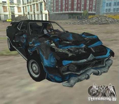 Bullet GT from FlatOut 2 для GTA San Andreas вид сзади слева