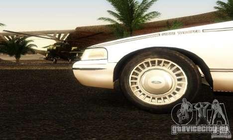Ford Crown Victoria Ohio Police для GTA San Andreas вид справа
