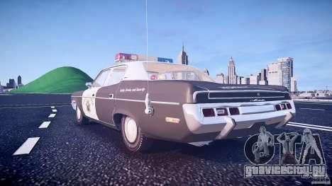 AMC Matador CHP [ELS] для GTA 4 вид снизу