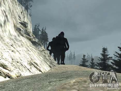 Mt. Chiliad Creature для GTA San Andreas второй скриншот