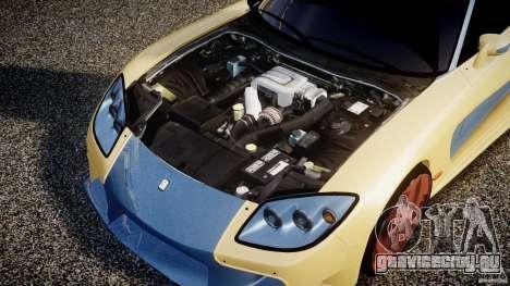 Mazda RX-7 Veilside v0.8 для GTA 4 вид сзади