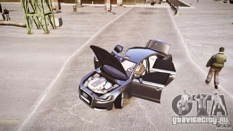 Audi A6 v1.0 для GTA 4 вид изнутри