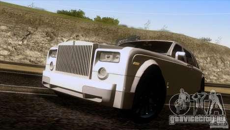 Rolls Royce Phantom Hamann для GTA San Andreas вид справа