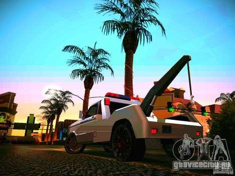 Towtruck tuned для GTA San Andreas вид сзади слева