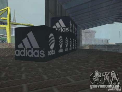 Новый завод Adidas для GTA San Andreas шестой скриншот