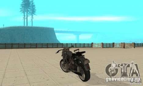 Bike Wolfenstein для GTA San Andreas вид сзади слева