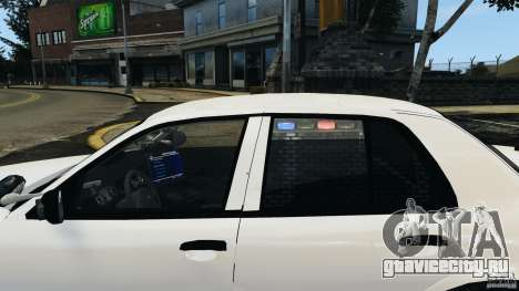 Ford Crown Victoria Police Unit [ELS] для GTA 4 двигатель