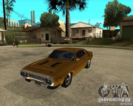 1971 Plymouth Roadrunner 440 для GTA San Andreas