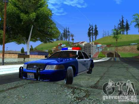 Ford Crown Victoria Belling State Washington для GTA San Andreas