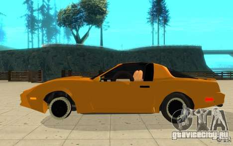 Pontiac Firebird 1989 K.I.T.T. для GTA San Andreas вид слева