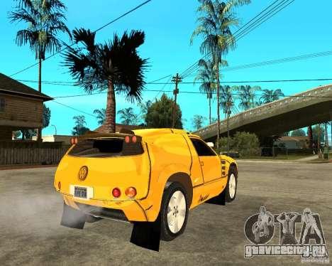 Volkswagen Touareg для GTA San Andreas вид сзади слева