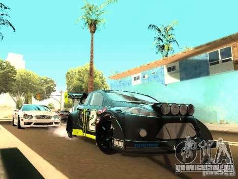 Ford Fiesta Rally Time для GTA San Andreas вид слева