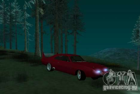 Dodge Charger Daytona для GTA San Andreas